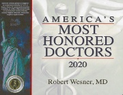 Robert Wesner MD Iowa City Most Honored Doctors 2020